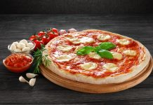 Recipe for Margherita Pizza With Oven-Roasted Tomatoes